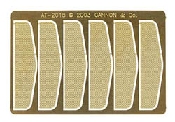 Cannon HO Anticlmbr Tread f/2103 6/, LIST PRICE $4.95