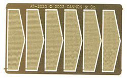 Cannon HO Anticlmbr Tread f/2106 6/, LIST PRICE $4.95