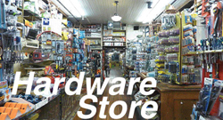 City Classics HO Hardware Store Picture Window, LIST PRICE $5.98