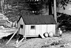 """Campbell Portable bunkhouse """"A"""", LIST PRICE $15.33"""