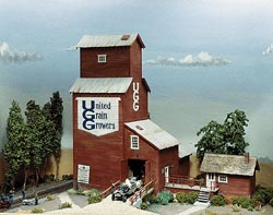 Campbell Grain elevator, LIST PRICE $93.54
