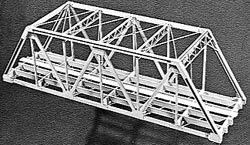 Campbell Bridge 125'dbl trck truss, LIST PRICE $69.63