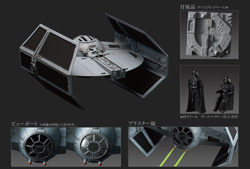 BANDAI 1:72 Tie Advanced x1, LIST PRICE $28