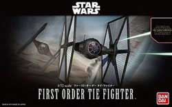 """BANDAI 1:72 First Order Tie Fighter """"Force Awakens"""", LIST PRICE $25"""