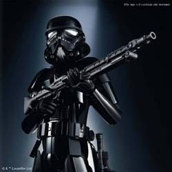 BANDAI 1:6 SHADOW STORMTROOPER, DUE 11/30/2018, LIST PRICE $28