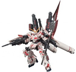 BANDAI 1/144 HGUC FULL ARMOR UNICORN GUNDAM, LIST PRICE $36