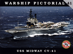 CLASSIC WARSHIPS PUBLISHING USS MIDWAY CV-41, LIST PRICE $17.95