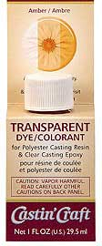 Environmental Technology, Inc. Casting Dye - Amber 1oz, LIST PRICE $7.19