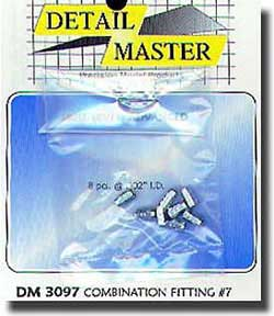 DETAIL MASTER COMBINATION FITTING #7        , LIST PRICE $9.95