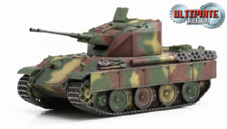 DRAGON ARMOR DIECAST Flakpanzer V Coelian 1945 1:72, LIST PRICE $46.95