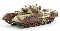 DRAGON ARMOR DIECAST CHURCHILL Mk.III TUNISIA 1:72, LIST PRICE $38.95