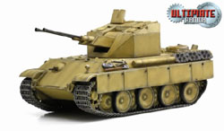 DRAGON ARMOR DIECAST Flakpanzer V Coelian 1:72, LIST PRICE $46.95