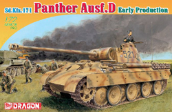 DRAGON ARMOR DIECAST Panther Ausf.D Early 1:72, LIST PRICE $29.71