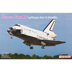 DML MILITARY KITS Space Shuttle W/cargo Bay :144, LIST PRICE $58.99
