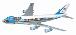 DML MILITARY KITS Air Force One 747 Cutaway :144, LIST PRICE $79