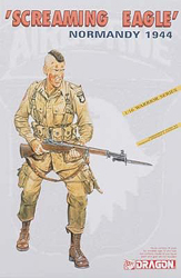 DML MILITARY KITS SCREAMING EAGLE NORMANDY 1:16 , LIST PRICE $24.5