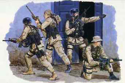 DML MILITARY KITS DELTA FORCE 1:35              , LIST PRICE $11.5