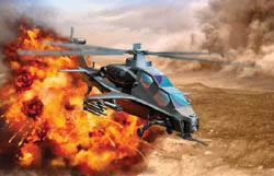 DML MILITARY KITS PLA WZ-10 Attack Copter 1:144, LIST PRICE $12.25