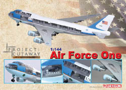 DML MILITARY KITS Air Force One Boeing Vc-25:144, LIST PRICE $209.95