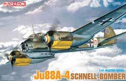 DML MILITARY KITS Ju-88A-4 SCHNELL BOMBER 1:48  , LIST PRICE $52.59