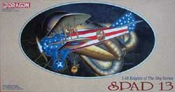 DML MILITARY KITS SPAD 13  1:48               Sd, LIST PRICE $39