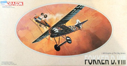 DML MILITARY KITS Fokker D.Viii 1:48, LIST PRICE $39
