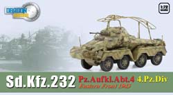 DML MILITARY KITS 1/72 Sd.Kfz.232 Pz.Aufkl.Abt.4 4 Pz. Division 1943, LIST PRICE $44.09