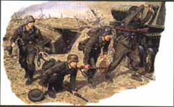 DML MILITARY KITS GERMAN ANTI-TANK INFANTRY 1:35, LIST PRICE $12.98