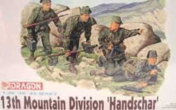 DML MILITARY KITS 13Th Ss Mountain Troops 1:35, LIST PRICE $12