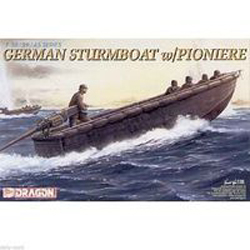 DML MILITARY KITS GERMAN STURMBOOT 1:35       Sd, LIST PRICE $11.25