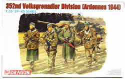 DML MILITARY KITS 352nd VOLKSGRENADIER '44 1:35 , LIST PRICE $15.5
