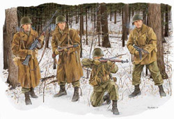 DML MILITARY KITS 101st AIRBORNE BASTOGNE 1:35  , LIST PRICE $11.5