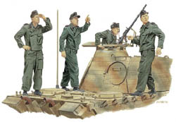 DML MILITARY KITS ACHTUNG-JABO PANZER CREW 1:35 , LIST PRICE $17