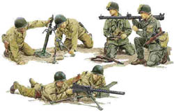 DML MILITARY KITS US ARMY SUPPORT WEAPONS TEAM  , LIST PRICE $12.99