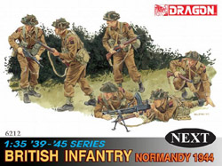 DML MILITARY KITS BRITISH INFANTRY NORM '44 1:35, LIST PRICE $25.95