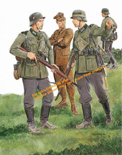 DML MILITARY KITS 28th INFANTRY Div POLAND 1:35 , LIST PRICE $12.2