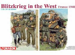 DML MILITARY KITS BLITZKRIEG in FRANCE FIGURES  , LIST PRICE $14.5