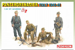 DML MILITARY KITS 1/35 Panzergrenadier, Italy (4), LIST PRICE $18