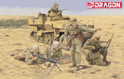 DML MILITARY KITS AFRIKA KORPS INF El Alamein, LIST PRICE $10.99
