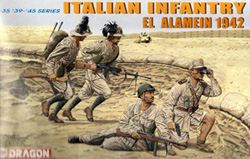DML MILITARY KITS 1/35 Italian Inf El Alamein '42, LIST PRICE $12.25