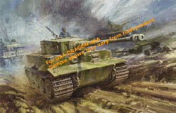 DML MILITARY KITS 1:35 Pz.Kpfw.VI Tiger I Late Production (3 in 1), LIST PRICE $52.5