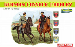 DML MILITARY KITS 1/35 German Cossack Cavalry (2), LIST PRICE $14.99