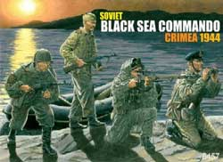 DML MILITARY KITS 1/35 Soviet Black Sea Commandos, LIST PRICE $18.25