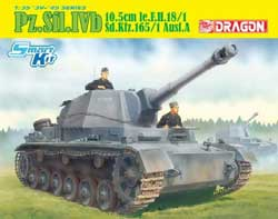 DML MILITARY KITS 1/35 Pz.Sfl.Ivb fur 10.5cm, LIST PRICE $65