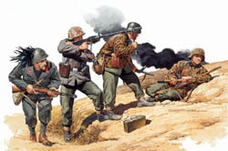 DML MILITARY KITS 1/35 Yugoslavia 1943 Inf (4), LIST PRICE $14.5