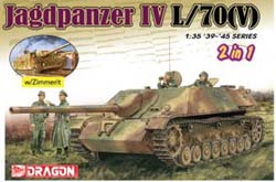 DML MILITARY KITS 1/35 Jagdpanzer IV L/70(V) (2 in 1), LIST PRICE $93.75