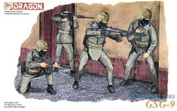 DML MILITARY KITS GSG-9 GER ANTI TERRORIST 1:35 , LIST PRICE $14.5