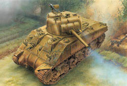 DML MILITARY KITS 1/35 M4 Sherman 75mm, Norm, LIST PRICE $66.59