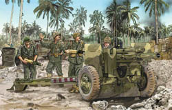 DML MILITARY KITS 105mm HOWITZER M2A1 W/usmc1:35, LIST PRICE $31.5