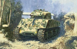 DML MILITARY KITS 1:35 39-45 M4(105) Howitzer Tank, LIST PRICE $58.89